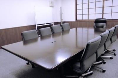 落ち着いた雰囲気の一番町レンタルオフィス会議室